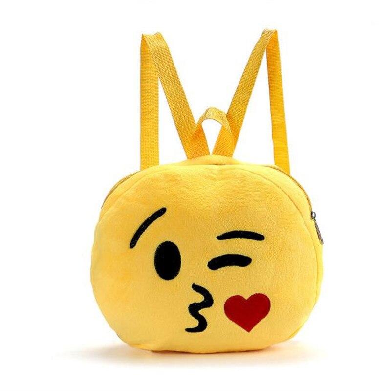 Women Backpack Fashion 6 Style Emoji Face Cute Girl Mini Satchel Print Kids Emoticon School Shoulder Bags Valentines Day gift<br><br>Aliexpress