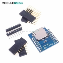 Micro SD Card Shield For WeMos D1 Mini TF WiFi ESP8266 Compatible SD Wireless Module For Arduino For WeMos D1 Mini(China)