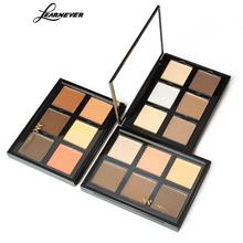 LEARNEVER Professional 6 Color Concealer Palette Contour Palette Makeup Face Cream Concealer Palette Makeup Cosmetics Makeup Set(China)