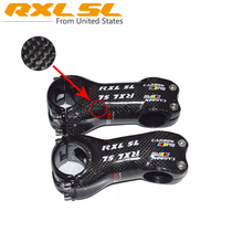 Stem 31.8 Bicycle Stems Carbon Stem Road MTB Stem Cycling Carbon Bike Parts 3K Gloss Full Carbon Fibre 6/17 Degree RX6604