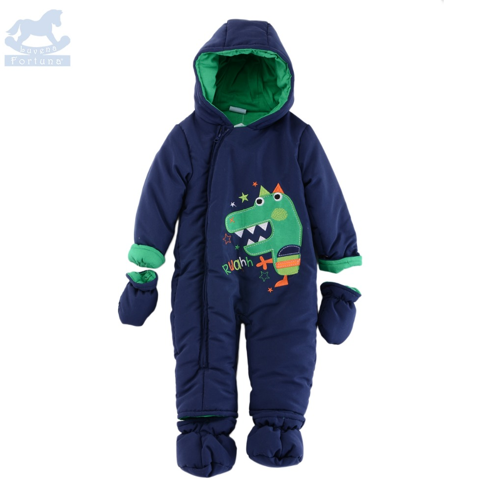 Luvena Fortuna 2017 New Style Autumn Winter Cute Charater Baby Boys Hooded Snowsuit J10026&amp;J10028&amp;J10027,Sold by JD China Sto<br>