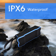 IPX6 Bluetooth Speakers Waterproof/Shockproof/Dustyproof Outdoor Wireless Subwoofer Loudspeaker built-in 4500mA Stereo Soundbox