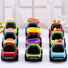 3PCS/Lot  Push and Go Friction Powered Car Toys Mini Truck Sport Car Toys Multi Color Kids Toys For Children