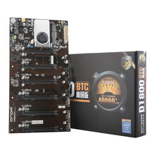 100% Brand New for Onda D1800 BTC Mining Machine Mining Motherboard Support 6 cards All Solid State Capacitor Comes With CPU