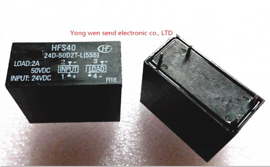 NEW relay HFS40-24D-50D2T-L HFS40 24D-50D2T-L HFS4024D50D2TL 24D50D2TL DIP4 5pcs/lot<br><br>Aliexpress