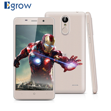 Original Leagoo M5 MTK6580A Quad Core Mobile Phone 2GB RAM 16GB ROM Android 6.0 Cell phones Fingerprint 3G WCDMA Smartphone(China)