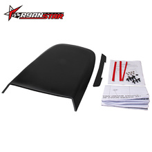 Ryanstar --Universal Black Car Stickers Car Hood Scoop Vent Bonnet Cover Auto Air Flow Intake For Ford Mustang 2005-2009 GT V8