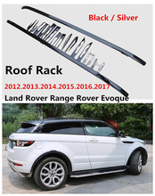 Car Roof Rack For Land Rover Range Rover Evoque 2012.2013.2014.2015.2016.2017 High Quality Brand New Aluminium Luggage Racks(China)