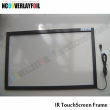 "Free Shipping 21.5""  16:9 Ratio IR Touch Screen Panel 4 Touch Points  With Glass  For Interactive LCD Monitor"
