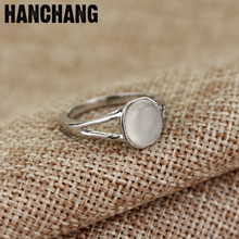 Movie The Vampire Diaries ELENA ANTI-SUN Moonstone Ring Women Female Finger Ring Party Accessories