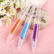 gel pen Syringes lapices Cartoon stabilo canetas coloridas escolar kawaii school supplies boligrafo stylo cute stationery