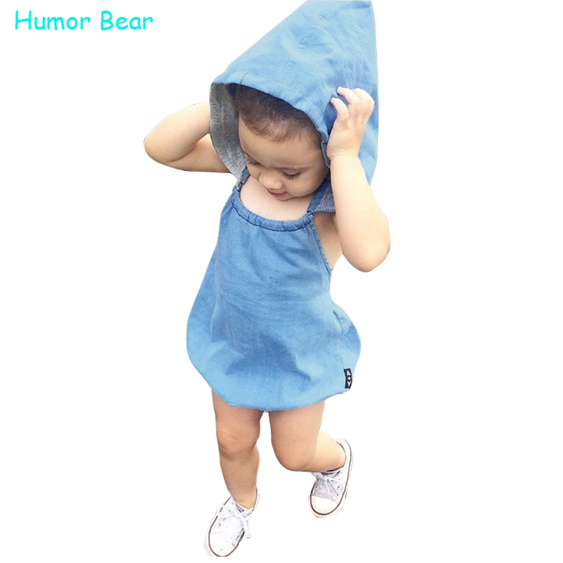 Humor Bear Baby Girls Clothing Fashion Baby Casual Cowboy Baby Boy Girl Rompers Baby Clothing Girls Birthday Party Jumpsuits<br><br>Aliexpress