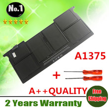 "Wholesale New  laptop battery FOR APPLE   MacBook  AIR 11"" A1370  2010 Production  Replace  A1375  BATTERY free shipping"