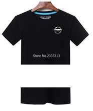 Summer production Nissan logo car logo T-shirt 4S shop work clothes auto repair round neck short sleeve clothes T shirt