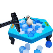 Family Fun Game Table Games Balance Ice Cubes Save Penguin Icebreaker Beating Interactive Destop Party Games with a box