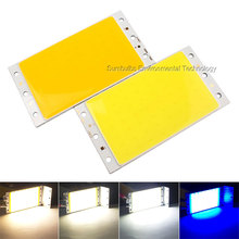 Factory Directly Sell 94x50mm Ultra Bright LED COB Strip Lamp Lights 12W 15W Warm White Pure White Rectangle LED Lighting Source