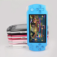 FREE Built-in 2000 games, 4GB /8GB 4.3 Inch PMP Handheld Game Player MP3 MP4 MP5 Player Video FM Camera Portable Game Console