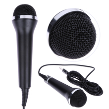 Universal Black Stereo Wired Microphone Professional USB Microphone for PS4/PS3/Xbox One/Xbox 360/Wii/PC Computer(China)
