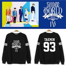 Buy KPOP SHINEE Pullovers Shirt Hoodie fleeces coat long sleeve Hoody k-pop SHINee winter casual Sweatshirts tops Outerwear Clothes for $21.23 in AliExpress store