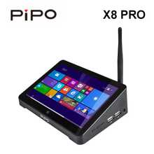2019 Pipo X8 Pro 1280*800 Windows 10 двойной ОС Android 5,5 Mini PC Z8350 4 ядра 2 GB/32 GB HDMI WI-FI Bluetooth Mini PC в наличии(China)