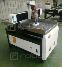China Factory Price CNC Router CAD CAM wood mini milling machine(China)
