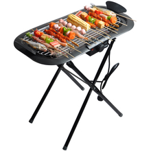 Multifunctional Outdoor and indoor dual use 2000W Electric Grill Pan BBQ Grill Electric Raclette Grill
