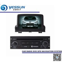 For Peugeot 307 2002~2011 Car DVD Player GPS Navigation Audio Video Multimedia System