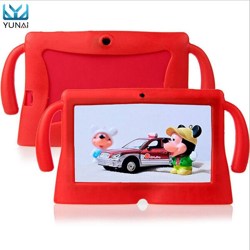 YUNAI Soft Silicone Tablet 7inch Case Cover Universal New Cover Case For Tablet 7inch For Cute E-Books For Sumsung For Huawei(China)