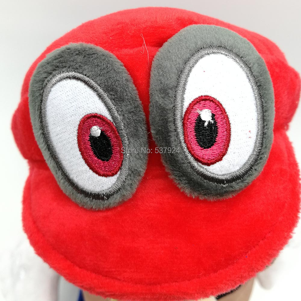 Mario with Odyssey Hat-8inch-140g-24.5-E