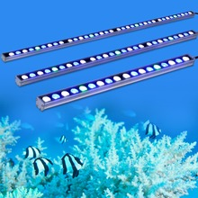 10pcs/lot hot 108W LED aquarium light bar strip lamp for reef coral plant freshwater/saltwater fish tank lighting stock in DE/US(China)