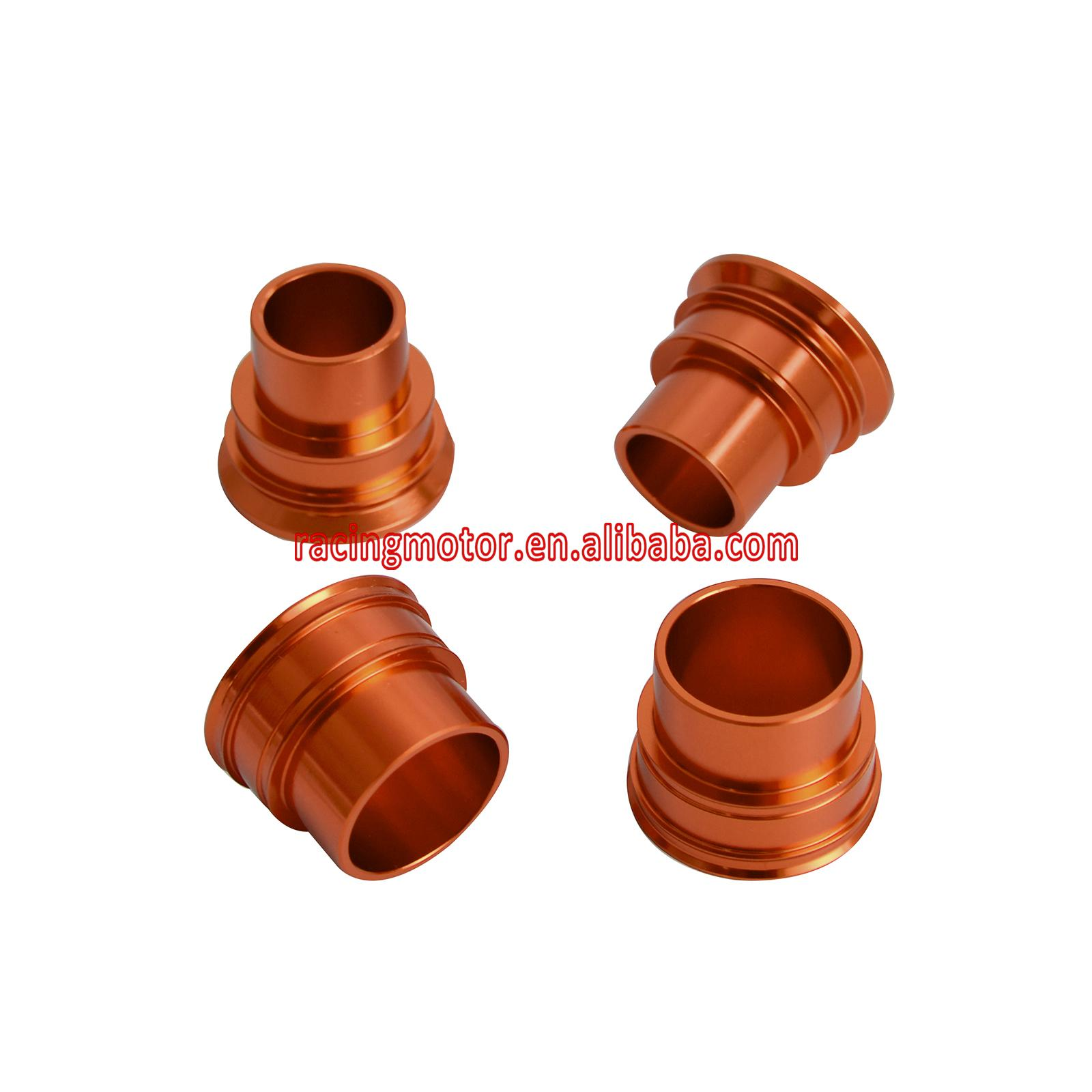 CNC (Billet Aluminum) Front and Rear Wheel Spacers/ Hub Collars For KTM 125-530 EXC/EXC-F/EXC-W/XC-W/SMR 2003-2015<br><br>Aliexpress