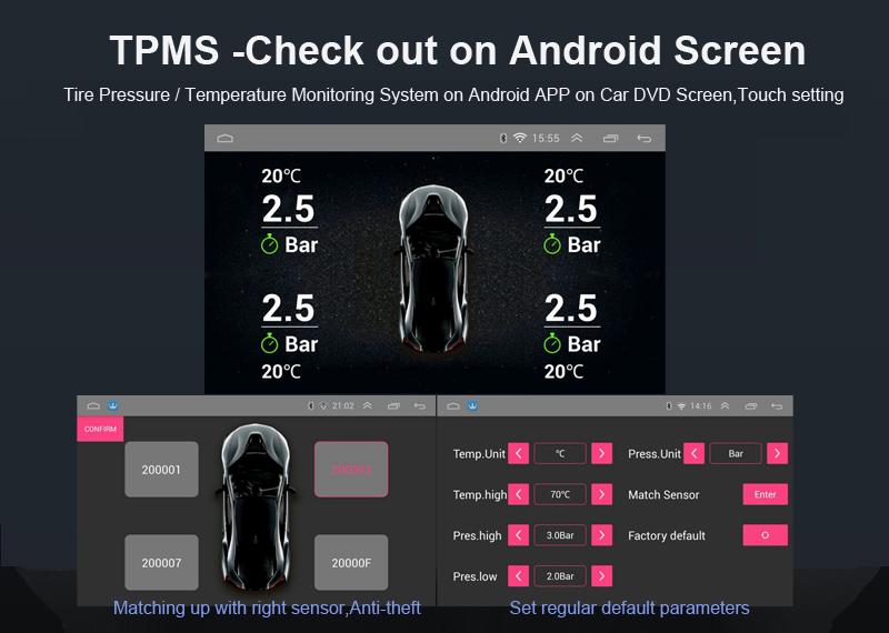 Telescopic 1din universal 7inch android car dvd radio gps dvd system auto foldable screen panel 2gb ram (5)
