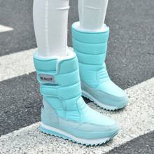 new Boots high-leg boots platform women snow shoes waterproof boots snow boots !Hot sale