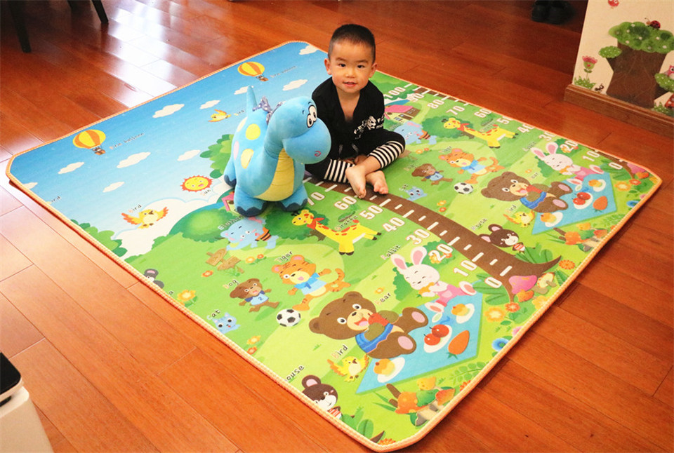 10 mm Thick Double Sides Children Play Mat Waterproof Kids Beach Picnic Mat Soft Eva Foam Carpet Rug Baby Crawling Mat Baby Toy 26