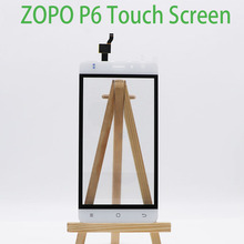 New Original Touch Screen and LCD Display Assembly Replacement For ZOPO P6.Note:the display needs to be updated software(China)