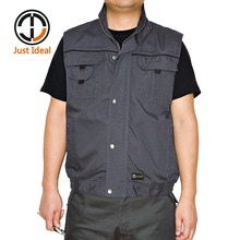 Mens Vest 3XL/4XL/5XL Plus Size Real Men Cargo Military Sleeveless Jacket Coats High Quality Male Vest ID663