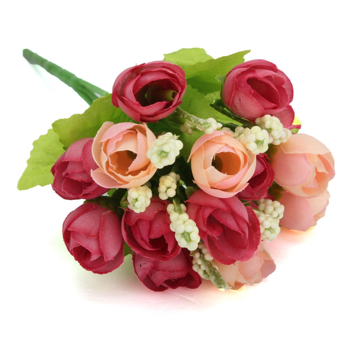 Online get cheap home bouquet wedding party aliexpress 5 colors silk bouquet artificial rose flower home garden wedding living room office decoration diy party izmirmasajfo