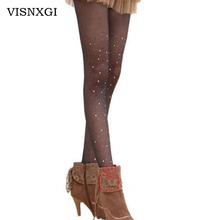 Buy 2017 Thin Section New Summer Fashion Sexy Women Hanging Socks Women Thin Bling Crystal Shiny Rhinestone Pantyhose S0528