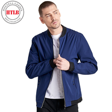 HTLB 2018 Spring Brand Men Casual Bomber Jacket Coat Men's Fashion Hip Hop Elastic Slim Fit Pilot MA1 Jacket Coat Men Plus Size(China)
