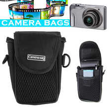 Camera Case Bag Pouch Nylon compacto Universal suave Shockproof protección transpirable mejor venta en peso(China)