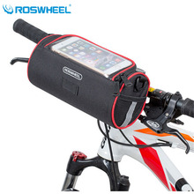 Buy Roswheel Folding Bike Basket Foldable Bycicle Bicycle Handlebar Bag Cycling Front Tube Bag Pannier Bike Map Phone Case Pouch for $13.99 in AliExpress store