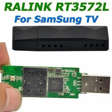 RaLink RT3572 2.4GHz & 5.0GHz 600Mbps WiFi USB Adapter Wireless WiFi Adapter with internal Antenna for SamSung TV Windows 7/8/10