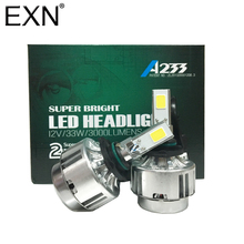 Buy Led Car DRL Headlight Fog Lamp HB4 9006 Cob Led Head Light 3000LM Xenon 6000K Lamp Bulb Replacement HID Xenon Bulb 9006 LED for $27.00 in AliExpress store
