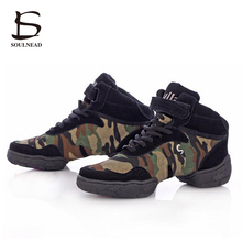 New Sports Feature Soft Outsole Breath Dance Shoes Sneakers For Woman Practice Shoes Modern Dance Jazz Shoes Discount