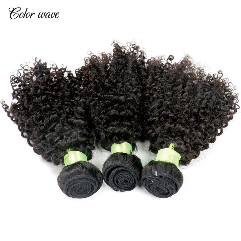 Color Wave 7A Human Hair Curly Bundles Kinky Curly Virgin Hair Peruvian Virgin Hair Natural Curly Weaves Curly Weave Human Hair<br><br>Aliexpress
