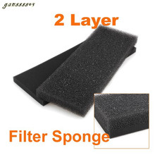 2 Layer Aquarium Fish Tank Replacement Reused Biochemical Sponge Filter Foam Pads filter media Great