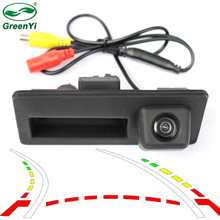 New Parking Assistance Intelligent Dynamic Trajectory Tracks Reverse Backup Rear View Camera For Audi A4 S4 A6(China)
