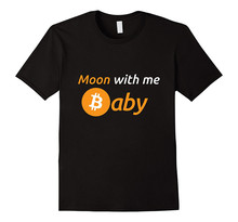 Buy 2018 Summer Brand Clothing O-Neck Funny Short Sleeve Mens Moon Baby Cool Bitcoin Owners T Shirt for $13.99 in AliExpress store