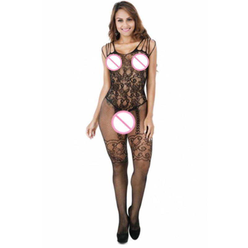 Sexy Womens Mesh Lingerie Babydoll Dress Underwear Sleepwear sexy lingerie bodystocking sexy bodysuit hot erotic(China)