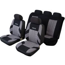 High Quality Car Seat Covers Set Universal Fit Most Cars Covers with Tire Track Detail Styling Car Seat Protector for Auto Care